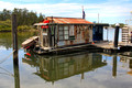 Old Shed Houseboat, Myall River, Tea Gardens,NSW, 17.4.2015