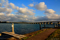 Wallis Lake Bridge From John Wright Park Tuncurry