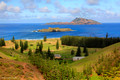 View of Phillip and Nepean Islands From Queen Elizabeth Lookout, Norfolk Island