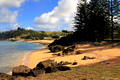 Slaughter Bay Beach Viewed From The Salt House, Kingston, Norfolk Island