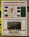 Gloucester Under Threat - Gloucester Residents in Partnership - Anti Rocky Hill Mine Leaflet