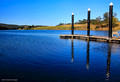 Wingham Wharf, Manning River, Wingham, NSW