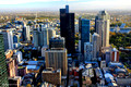 Melbourne City Buildings from Sofitel