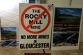 """No Rocky Hill Mine in Gloucester"" Poster, Gloucester, NSW"
