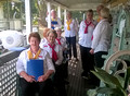 Forster Village Voices Choir at Ferries Book Launch Great Lakes Museum 21st May 2016
