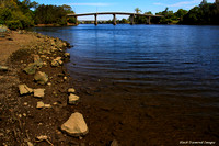 Dumaresq Island Bridge From River Side Park, Cundletown, NSW