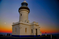 Byron Lighthouse Sunset