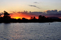 Wallamba River Sunset from Darawank, Tuncurry, NSW, Australia
