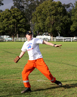 2012 Stroud, NSW -  Brick and Rolling Pin Throwing