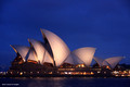 Sydney Opera House from The Park Hyatt Hotel, Dawes Point, Sydney
