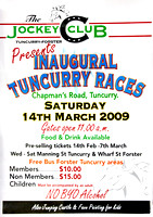 Tuncurry-Forster Inaugural Races 14th March 2009