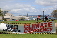 Climate Change Rally Newcastle 21st September 2014