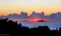 Sunrise over the Solitary Islands, Coffs Harbour, NSW, Australia