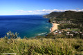 View over Seacliff Bridge Fron Bald Hill Lookout Stanwell Park