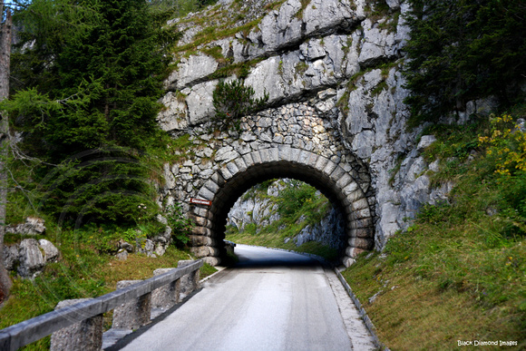 The Road to Hitler's Eagles Nest, Bavaria, Germany