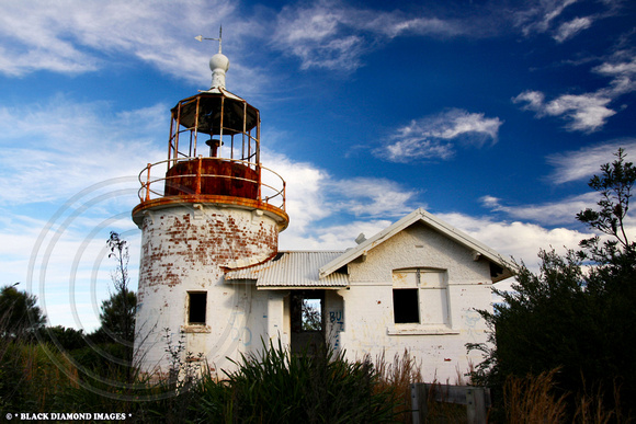 Crookhaven Heads Lighthouse - The Most Endangered Lighthouse in NSW, If Not Australia. -TIME FOR ACTION 6.6.2009