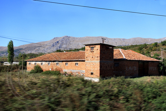 Houses along the Road to Tirana