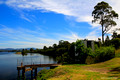 Historic Chatham, Manning River Riverfront, Peters Milk Wharf, Taree, NSW