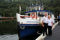 John and Lisa Tillott and Their Historic Cruise Boat - Macquarie Princess at Berowra Waters, Sydney - 17th April 2015, 100 yrs Anniversary Cruise