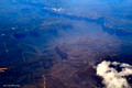 Flying Over the Blue Mountains - Sydney to Adelaide Flight 28 Sept 2014