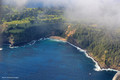 Aerial Views of Anson Bay - Leaving  Norfolk Island